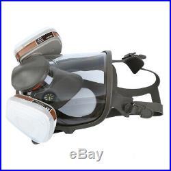 15 in 1 Full Face Facepiece Gas Mask Filter Respirator Painting Spraying