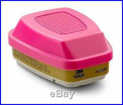 1/Case 3M 60926 P100 Multi Gas/Vapor Cartridge Filter 60 Each 54187