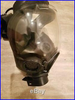 1 Each MSA Gas mask with Bio/Chem bag kit