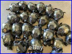 (1) One MSA Millennium CBRN Gas Mask Medium 10006231 OEM Full-face Respirator