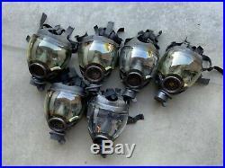 (1) One MSA Millennium CBRN Gas Mask Size Small Full-Face Respirator