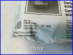 3M 60923 Organic Vapor/Acid Gas Replacement Respirator Cartridge/Filter, 30 Pair