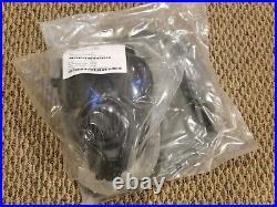 #4 AVON FM53 M53 Gas Mask Respirator Large Right Handed VREU NBC M50 CBRN