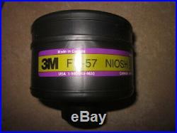 50 New 3m Cbrn Fr-57 Niosh Gas Mask Filter Cartridge Nato 2019 Expiry 3m-fr