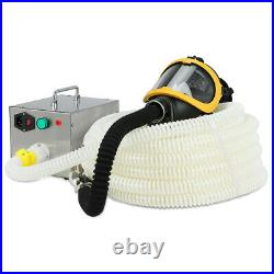 66ft 110-240V Electric Air Supply Long Tube Respirator & Isolated Gas Mask