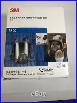 7 in 1 Original 3M 6800 Full Facepiece Reusable Respirator Full Face Gas Mask M