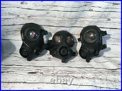 AVON FM12 CBRN/NBC Gas Mask/ withDrink Tube/ 2X Ports / Has Stickers /Sz Medium