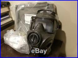 AVON FM53 M53 Gas Mask Respirator Kit NEW Medium Right Handed NBC M50