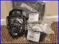 AVON FM53 M53 Gas Mask Respirator Kit NEW XS Right Handed NBC M50