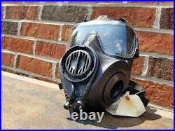 AVON FM53 M53 Gas Mask Respirator Large Right Handed + VPU & Mic! NBC M50 CBRN