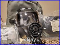 AVON FM53 M53 Gas Mask Respirator Medium Right Handed NBC M50