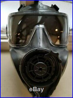 AVON FM53 M53 Gas Mask Respirator Medium Right Handed NBC M50 CBRN with VPU