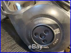 AVON FM54 M54 Gas Mask Respirator XS DUAL PORT NBC M50 M53 CBRN