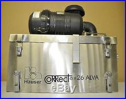 Atemluft-Versorgungsanlage Hochleistungs-Gasfilter Hauser CoRRect air 26 ALVA