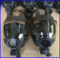 Authentic MSA Millennium CBRN 40mm Gas Mask Large OEM Full Face Respirator Mask