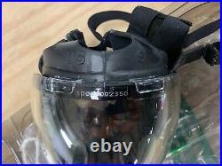 Authentic MSA Millennium CBRN 40mm Gas Mask Medium OEM Full Face MSA Respirator