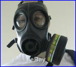 Avon CBRN FM12 Gas Mask Respirator with Filters And Pouch SAS BRITISH ARMY