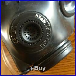 Avon CBRN-FM12 Respirator Military Gas Mask Size 2 / MEDIUM CBRN FM12