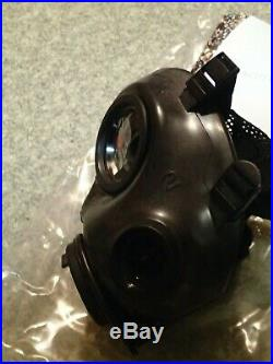 Avon FM12 Gas Mask with filter Size 2 Medium CT12 Respirator Police Military