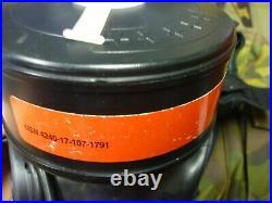 Avon FM12 gas mask FREE SHIPPING WORLD WIDE 1996 size 2 respirator