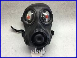 Avon FM12 gas mask, respirator. New. Size 3, With Filter and Bag. Small
