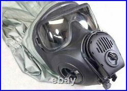 Avon FM53 CBRN/NBC Gas Mask ULTIMATE 40mm NATO Kit Commercial System MEDIUM