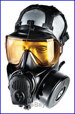 Avon Fm54 Cbrn-riot Agent-tic Twin Port Gas Mask Medium 72850-3 No Tax