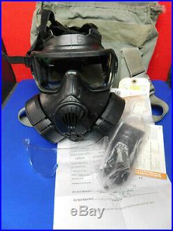 Avon M50 Face Respirator Gas Mask US Military Surplus Small Free Shipping