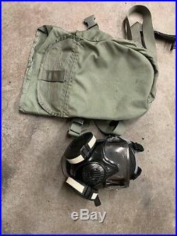 Avon M50 Gas Mask Air Purifying Respirator Kit MEDIUM
