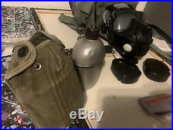 Avon M50 Gas Mask Air Purifying Respirator Kit MEDIUM With FTO Filters, case