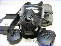 Avon M50 Gas Mask Full Face Respirator Carry Bag Filters NBC Protection Large