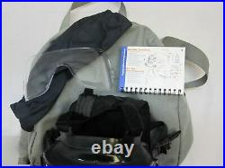 Avon M50 Gas Mask Full Face Respirator + Carry Bag NBC Protection LARGE Size