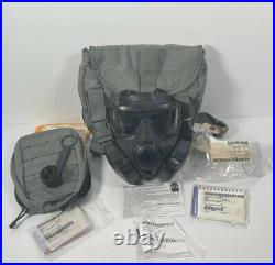 Avon M50 Gas Mask Full Face Respirator Carry Bag and Accessories Size Small