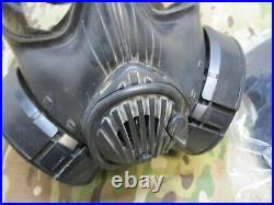 Avon M50 Gas Mask Full Face Respirator (No Bag) Filter NBC Protection LARGE