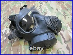 Avon M50 Gas Mask Full Face Respirator (No Bag) Filter NBC Protection MEDIUM