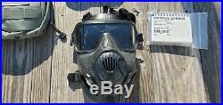 Avon M50 Gas Mask Full Face Respirator SIZE MEDIUM