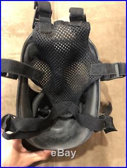 Avon fm12 fm-12 respirator gas mask 2025 filter pouch medium size 2 Dual port