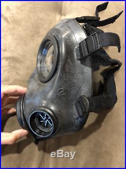 Avon fm12 fm-12 respirator gas mask 2025 filter pouch medium size 2 Right hand