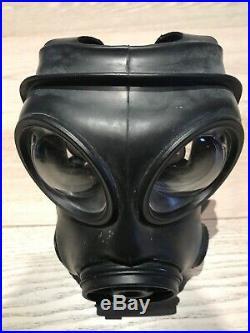 British Army Avon 1988 S10 Gas Mask Size 1 Filter Respirator OPTICAL LENSES