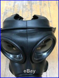 British Army Avon Excellent 2010 S10 Gas Mask Respirator Size 2 and Filter