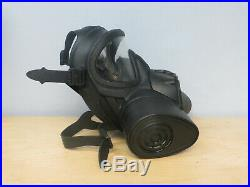 British Army Size 4gas Mask-respirator With Two Filters & Bundle