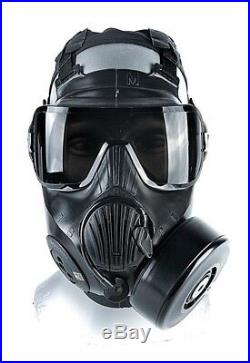 C50 Twin Port Avon Cbrn 70501-187 Gas Mask. Large In Stock. No Sales Tax