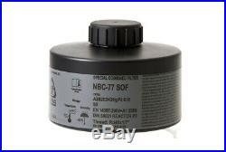 CBRN Gas Respirator Mask Czech Military Sealed Filter NBC-77 SOF 40mm Thread New