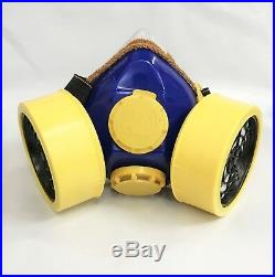 Cartridge Respirator Industrial Gas Safety Chemical Spray Paint Mask Diversion