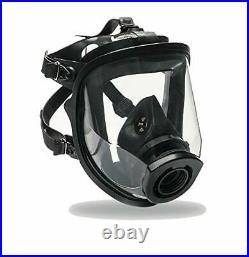 Certified Full Face Gas Mask Respirator SuperView 1 Year Full Manufacturer