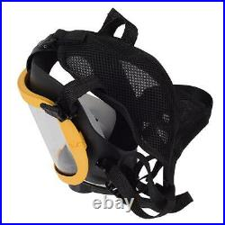 Constant Flow Airline Supplied Fresh Air Respirator System Full Face Gas Mask with