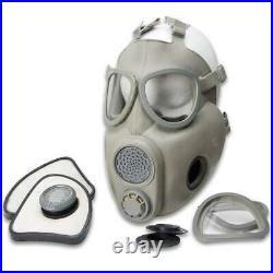 Czech Republic Military GP-7V Gas Mask Respirator Complete Kit Grey Size 2
