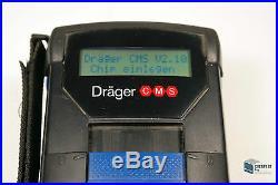 Dräger CMS Analyser Chip-Mess-System Gasmessgerät + CMS Analyser + Messsonde