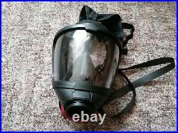 Dräger FPS7000 ESA Anschluss GR. M Überdruckmaske GASMASKE GEBRAUCHT