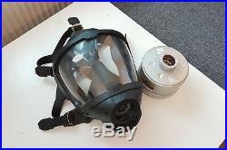 Dräger FPS 7000 Atemschutzmaske mit Filter Gasmaske ABC Maske ESA Gas Mask